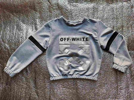 Свитшот Childreams Off white свитшот сер(5-8)